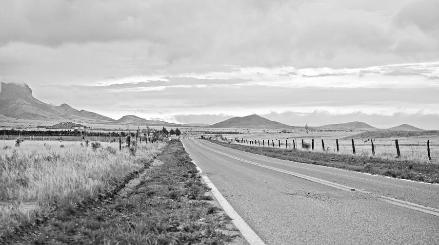 Road Photograph - Road To Elgin by Swift Family