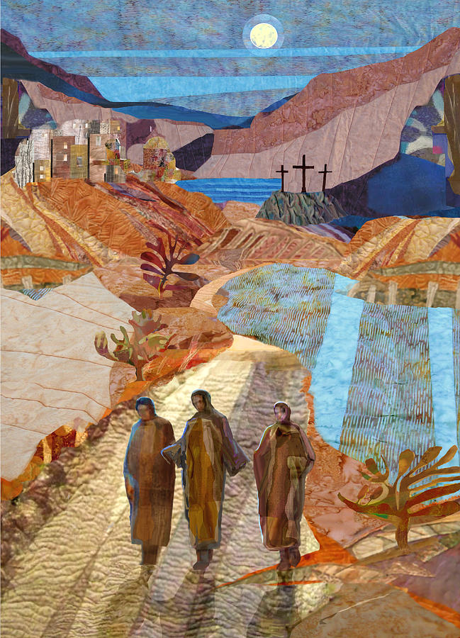Road to Emmaus di Michael Torevell