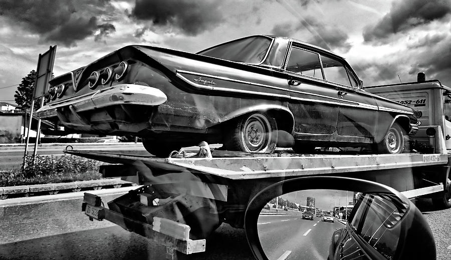 Chevrolet Photograph - Road To Future by Bojan Bencic