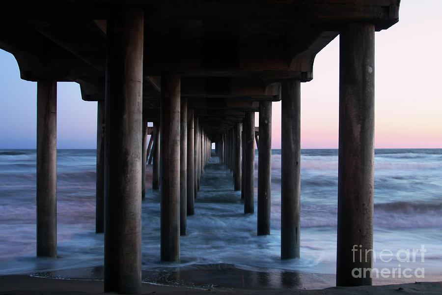 Huntington Beach Pier Photograph - Road To Heaven by Mariola Bitner