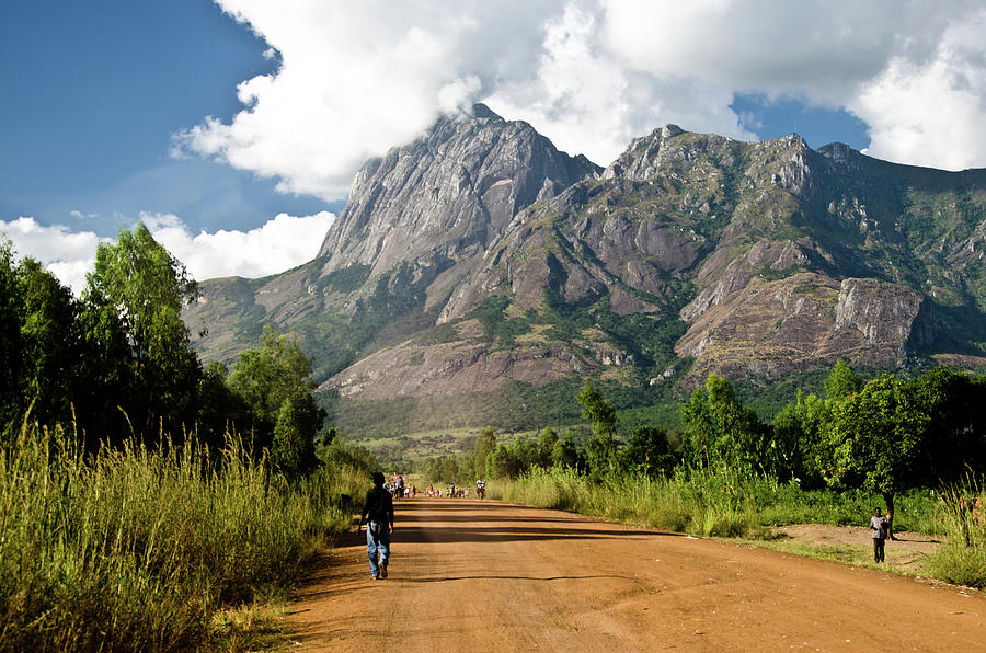 Road To Mount Mulanje Photograph by Colin Carmichael