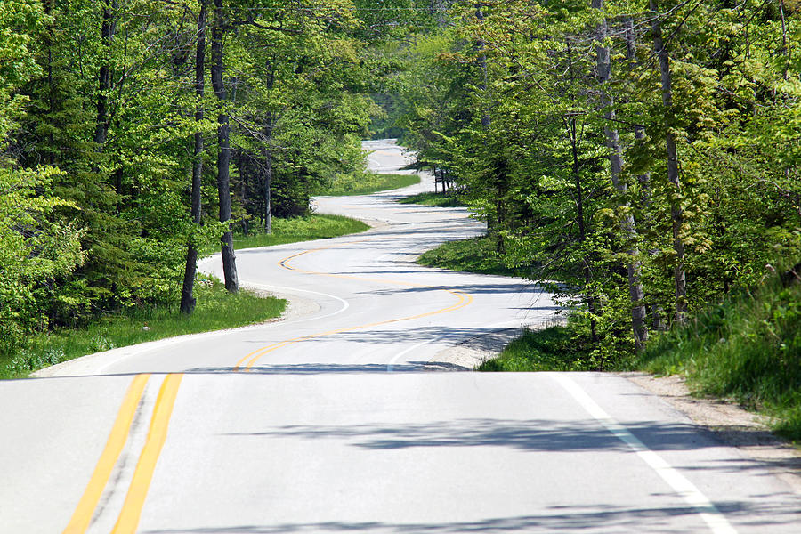 Northport Photograph - Road To Northport by Kathy Weigman