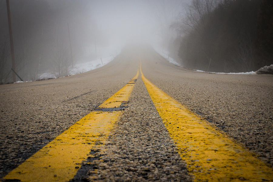 Road Photograph - Road To Nowhere by Bill Pevlor