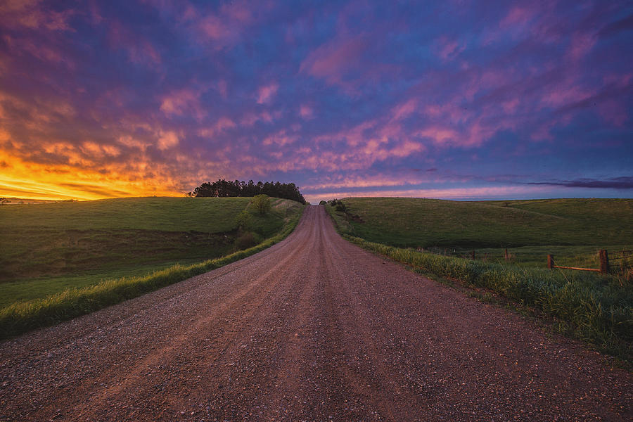 Light Photograph - Road to Nowhere EL by Aaron J Groen