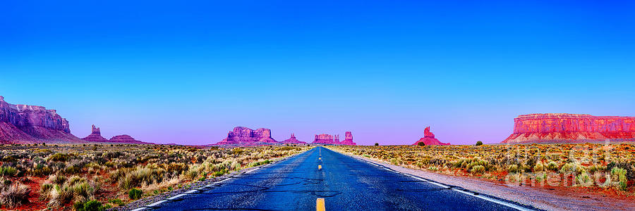 Monument Valley Photograph - Long Road To Ruin by Az Jackson