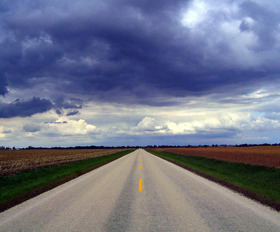 Road Photograph - Road To Ruin by Claude Oesterreicher