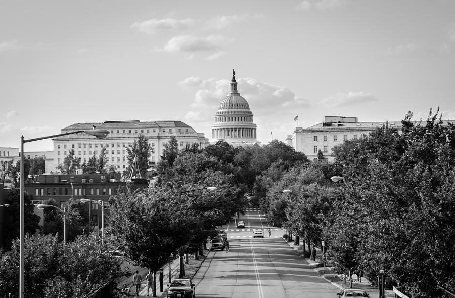Washington D.c. Photograph - Road To The Capital  by Ryan Routt