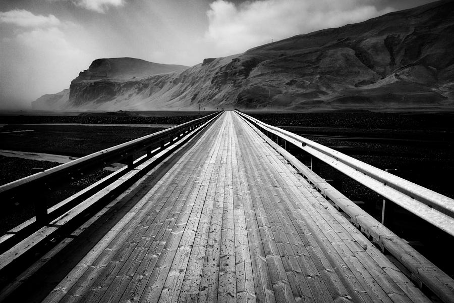 Iceland Photograph - Road To Vik by Dave Bowman