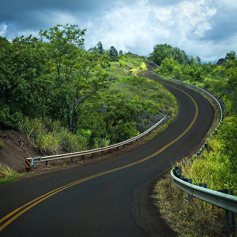 Road to Waimea Canyon by Michael Yeager