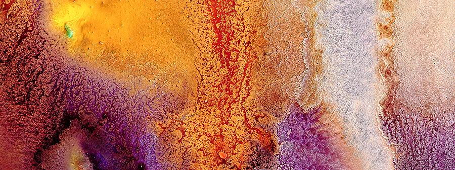 Roads to Success - Fluid Liquid Abstract macro photography by kredart by Serg Wiaderny