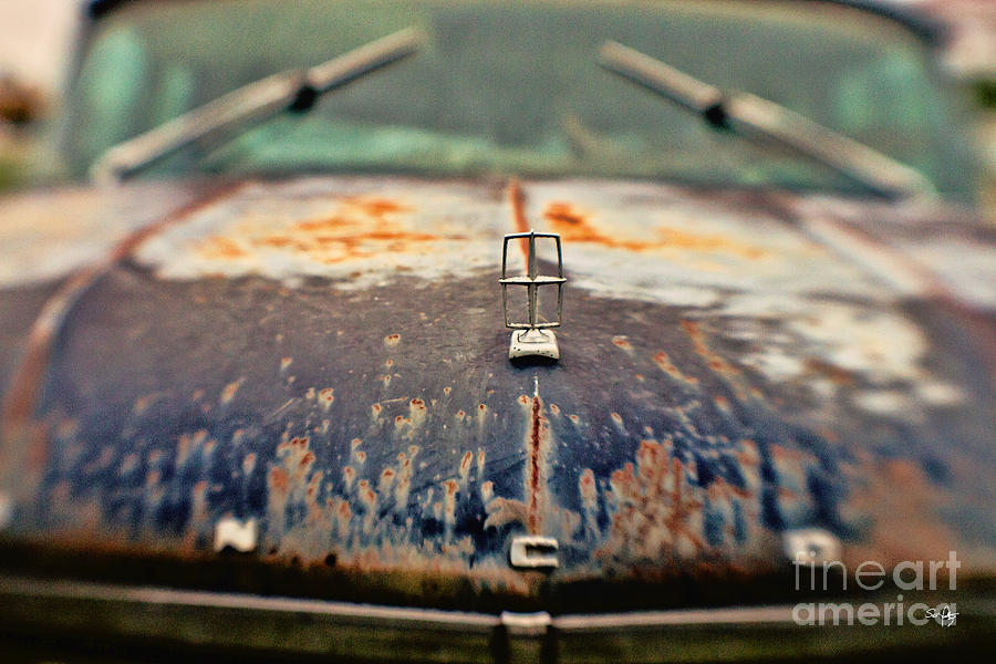 Lincoln Photograph - Roadside Relic by Scott Pellegrin