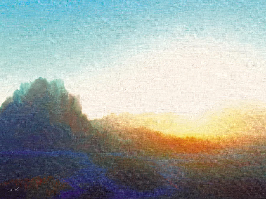 Roaming Hills And Valleys 14 Painting