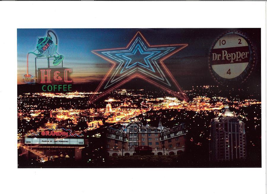 Star Photograph - Roanoke Virginia Inspiration  by Scott Ware