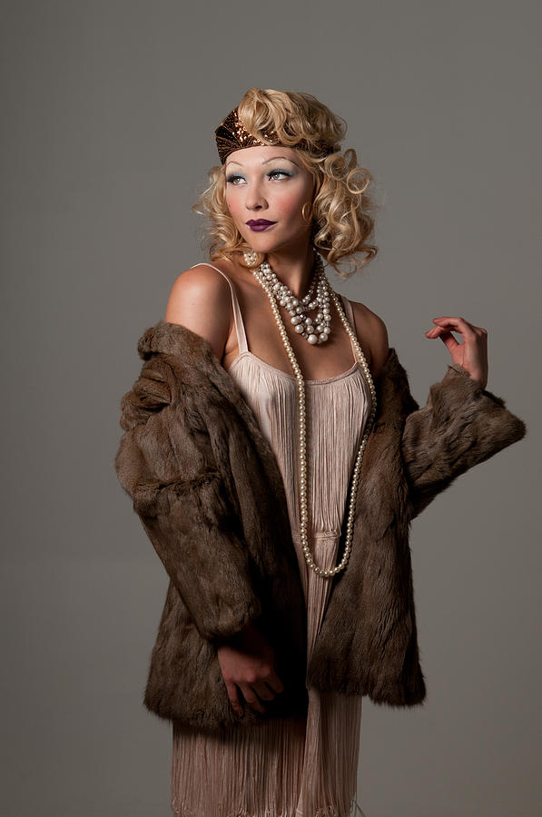 Portrait Photograph - Roaring 20s by Greg Thelen