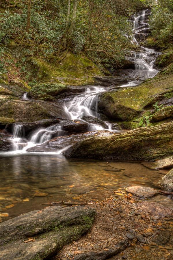 Roaring Fork Falls by Mark Steven Houser