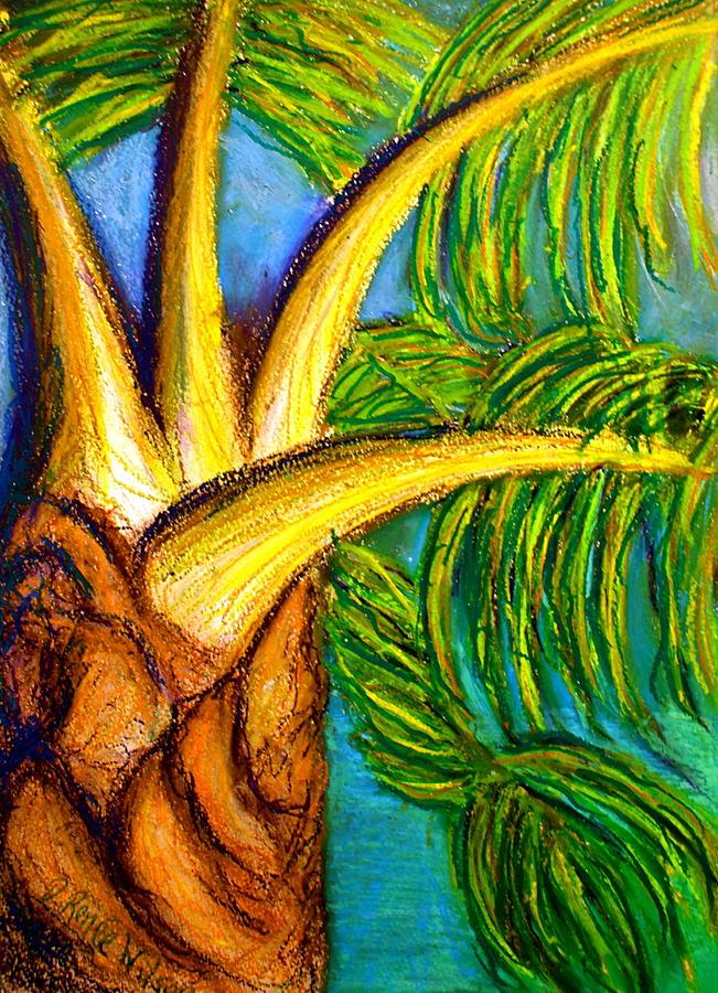 Palm Drawing - Roatan Revel by D Renee Wilson