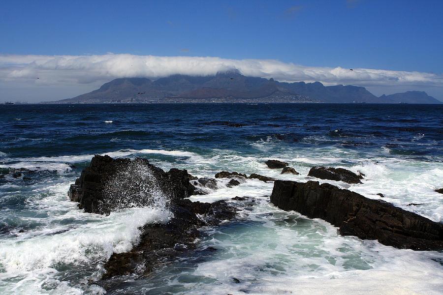 Africa Photograph - Robben Island View by Aidan Moran