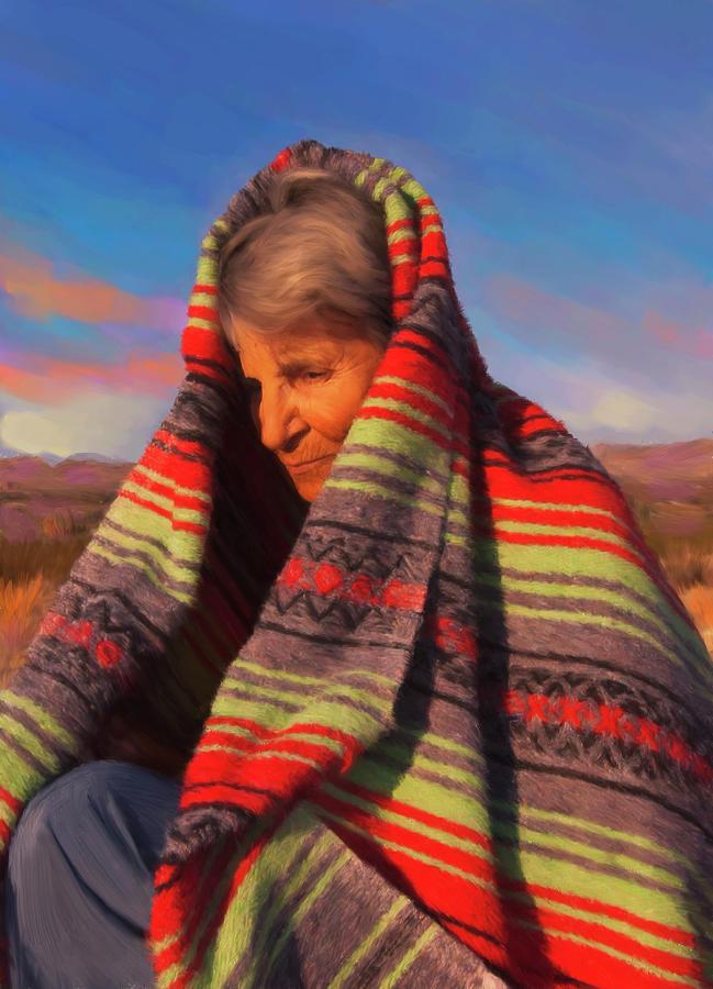 Woman Digital Art - Robbie by Sandra Selle Rodriguez