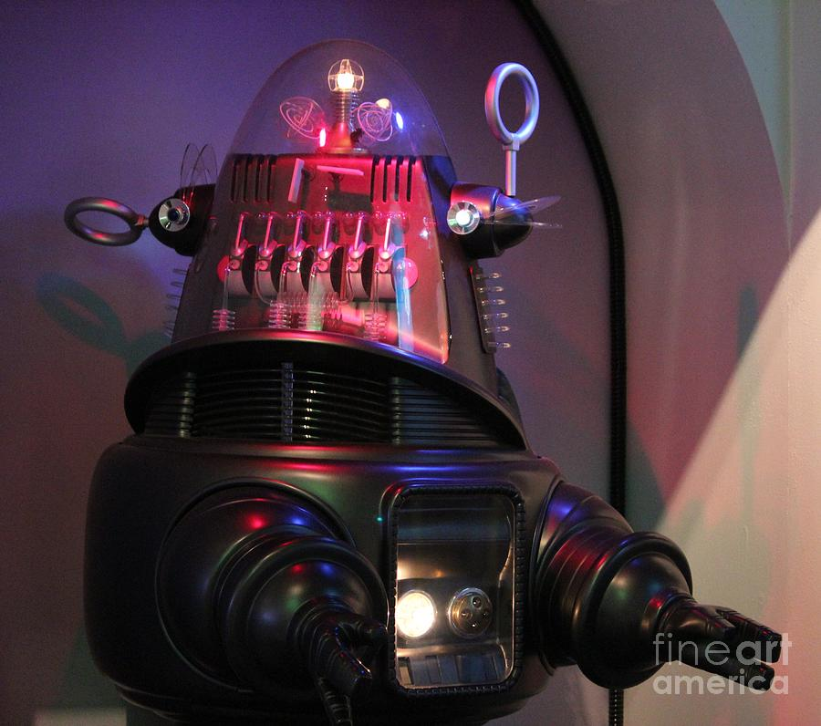 Robby Photograph - Robby The Robot 1956 by Cynthia Snyder