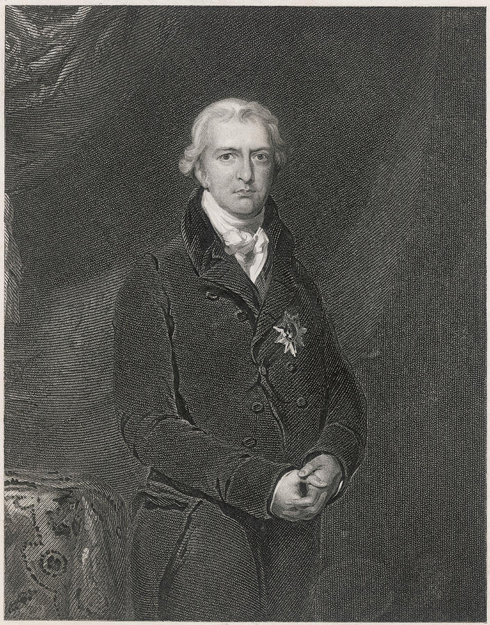 Liverpool Drawing - Robert Banks Jenkinson (1770-1828) by Mary Evans Picture Library