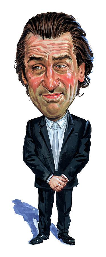 Robert De Niro Painting - Robert De Niro by Art