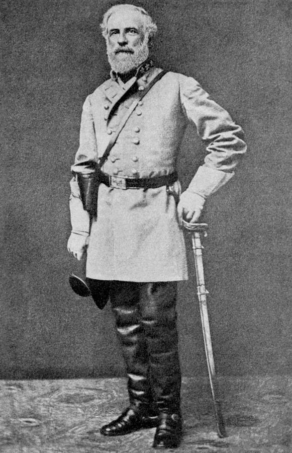 Military Photograph - Robert E Lee by American School