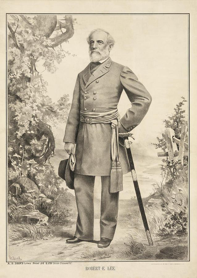 Robert Photograph - Robert E Lee by Bill Cannon