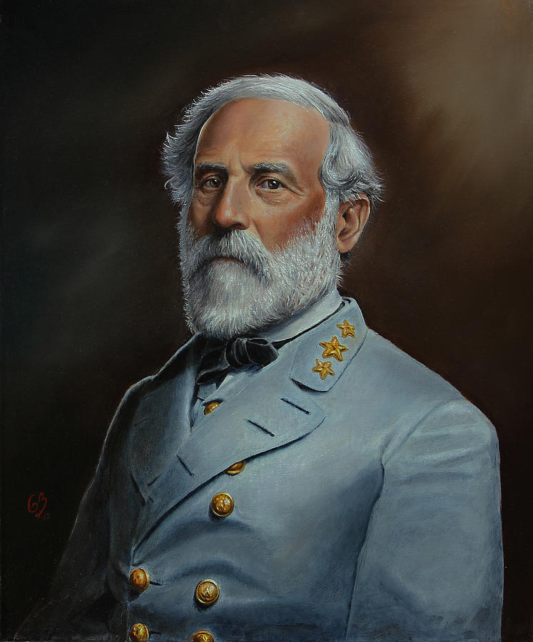 Robert e lee painting by glenn beasley for Lee s painting