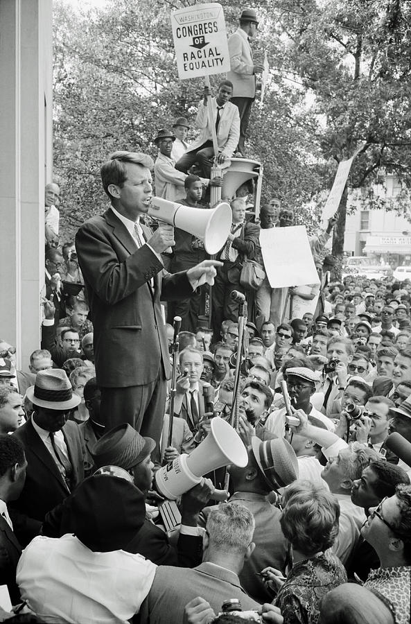 Robert F. Kennedy Photograph - Robert F Kennedy 1963 by Mountain Dreams