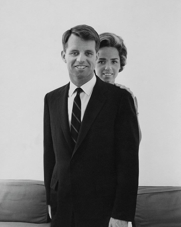 Robert F Kennedy And Wife Ethel Photograph by Cecil Beaton