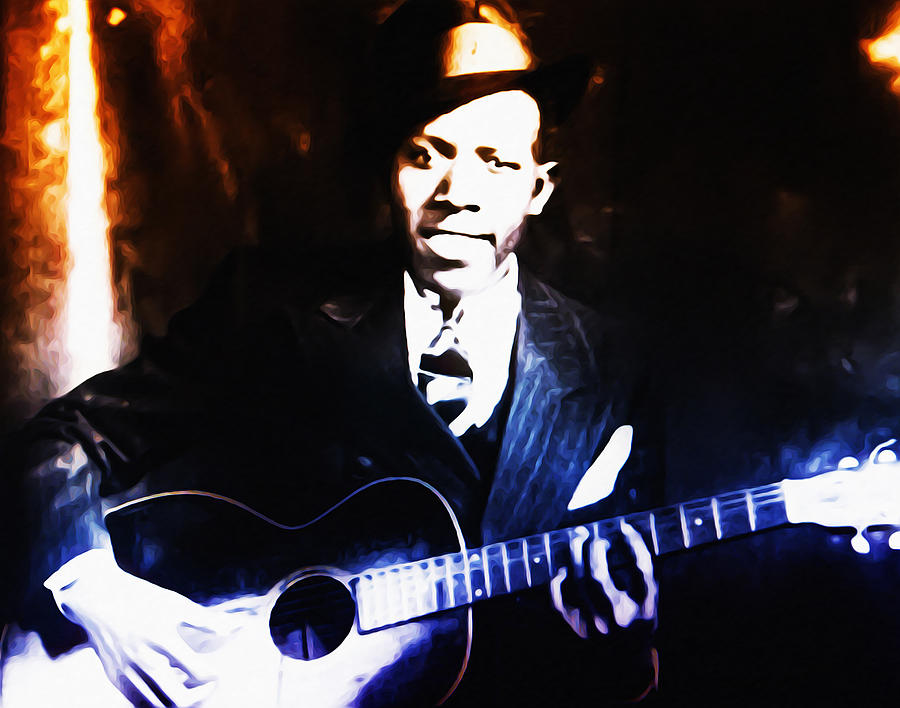 Robert Johnson Photograph - Robert Johnson - King Of The Blues by Bill Cannon