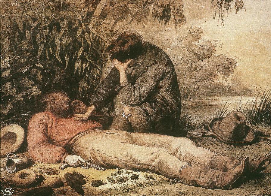 1861 Painting - Robert Ohara Burke (1820-1861) by Granger