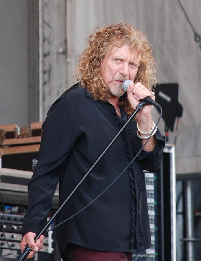 Robert Plant Photograph - Robert Plant by Pamela Schreckengost