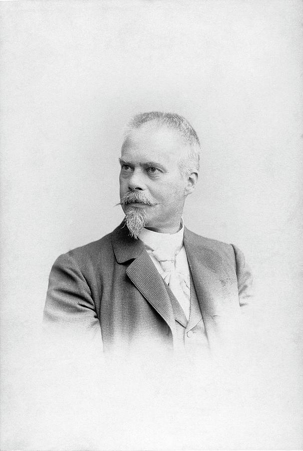 Portrait Photograph - Robert Wiedersheim by American Philosophical Society