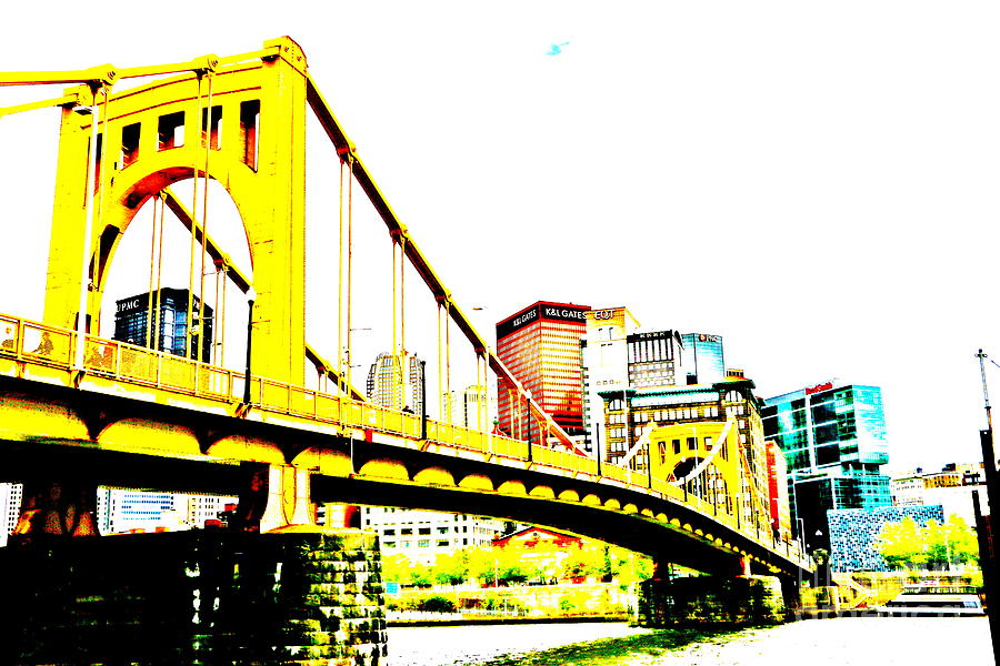 Photograph - Roberto Clemente Bridge by Jay Nodianos