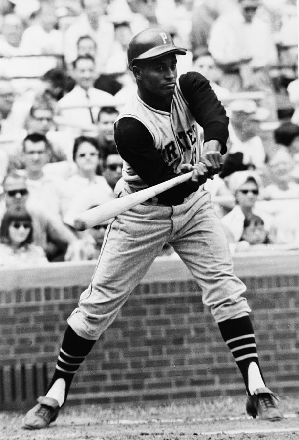 Roberto Clemente Pirates Great Baseball Player by Retro Images Archive