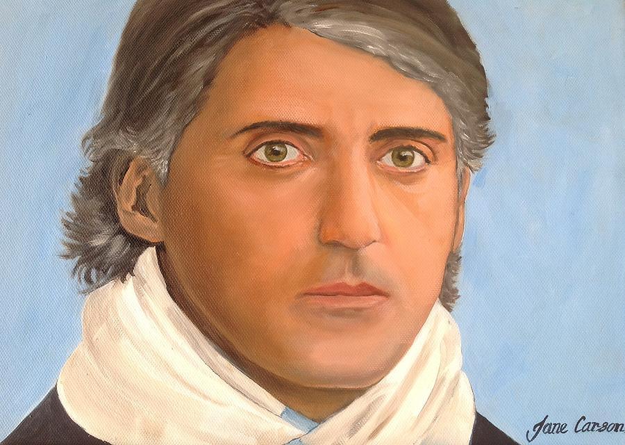 Roberto Mancini  Painting by Jane  Carson