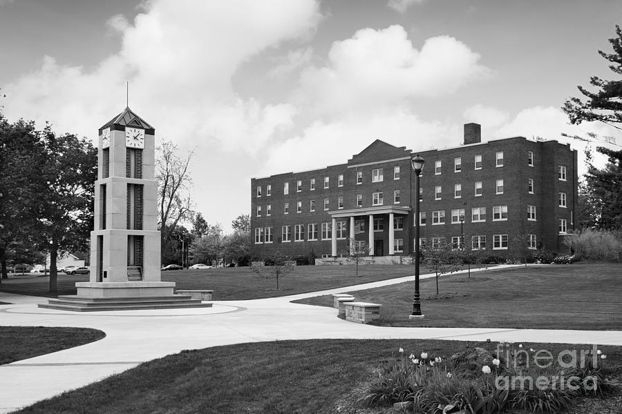 Roberts Wesleyan College Photograph - Roberts Wesleyan College Rinker Center  by University Icons