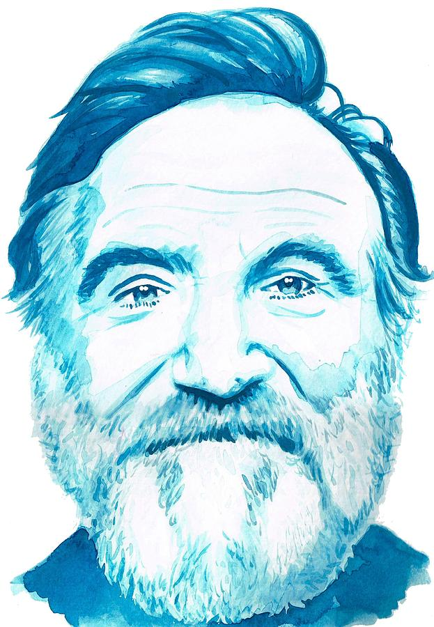 Robin Williams Painting - Robin Williams by Kyle Willis