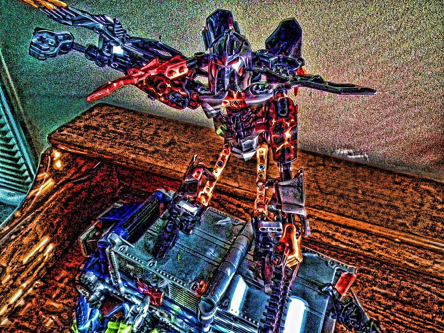 Toys Photograph - Robo Man by Robert Rhoads