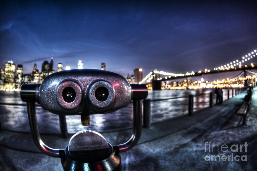 Telescope Photograph - Robot Views by Andrew Paranavitana