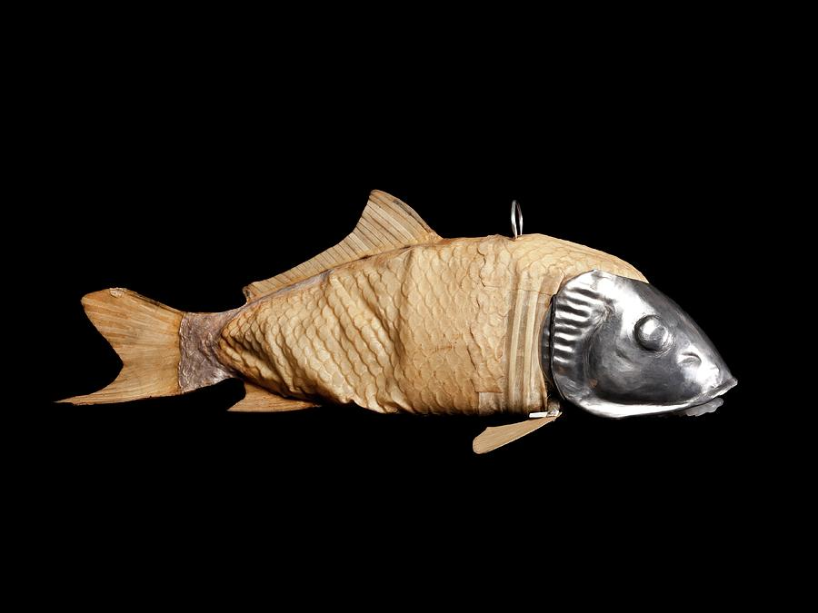Machine Photograph - Robotic Fish by Benny J/science Photo Library