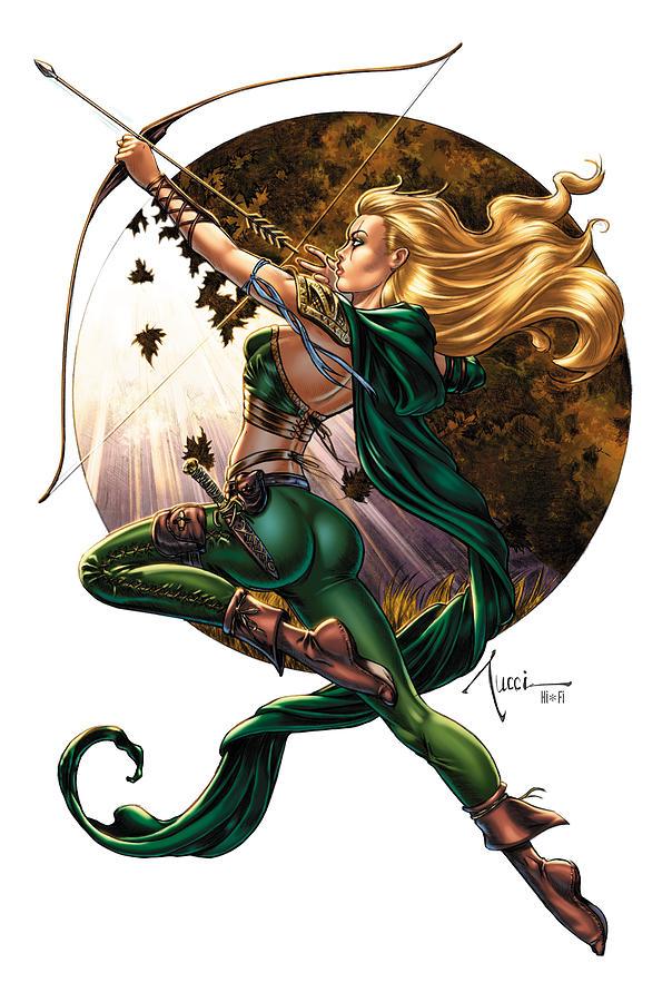 Grimm Fairy Tales Digital Art - Robyn Hood 01h by Zenescope Entertainment