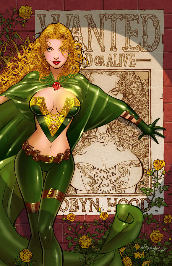 Grimms Drawing - Robyn Hood 03e by Zenescope Entertainment