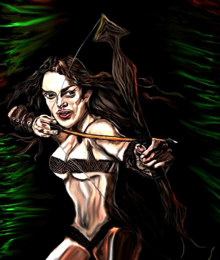 Robin Hood Painting - Robyn Hood by Herbert Renard