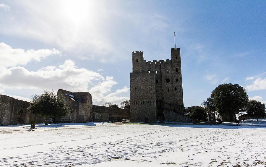 Castle Photograph - Rochester Castle by Dawn OConnor