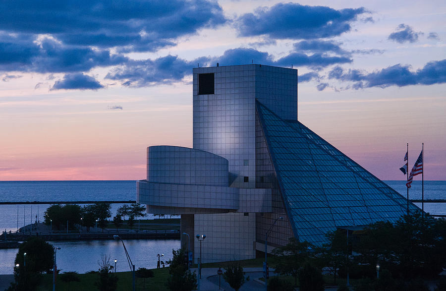 Rock And Roll Hall Of Fame Photograph - Rock And Roll Hall Of Fame by Dale Kincaid