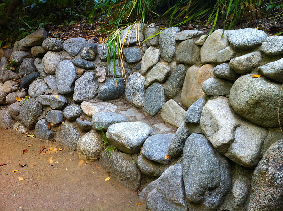 Rock Photograph - Rock Bench by Denise Mazzocco