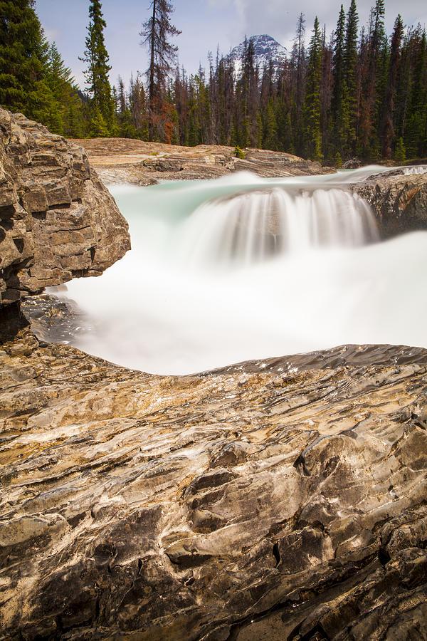 Rockies Photograph - Rock Bridge by Chris Halford