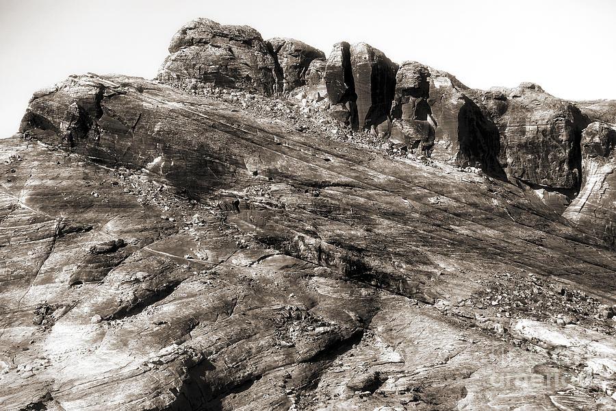 Rock Details Photograph - Rock Details by John Rizzuto